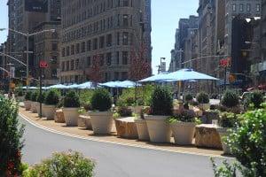Large Garden Planters, New York City