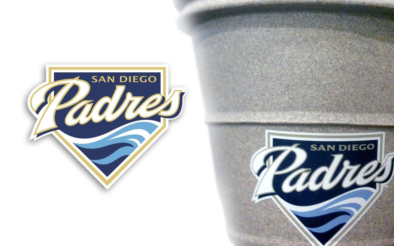 San Diego Padres Logo Custom Graphic