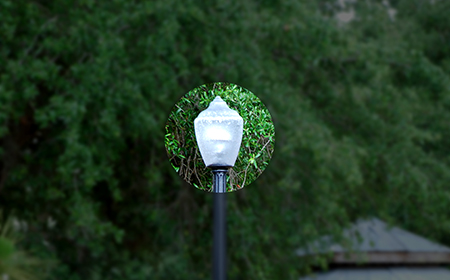 2-luminaire-on-light-pole