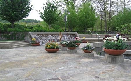 NC Arborteum planters