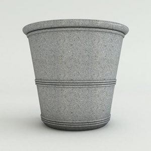 Barrel-Vase-Ash-Granite-Face