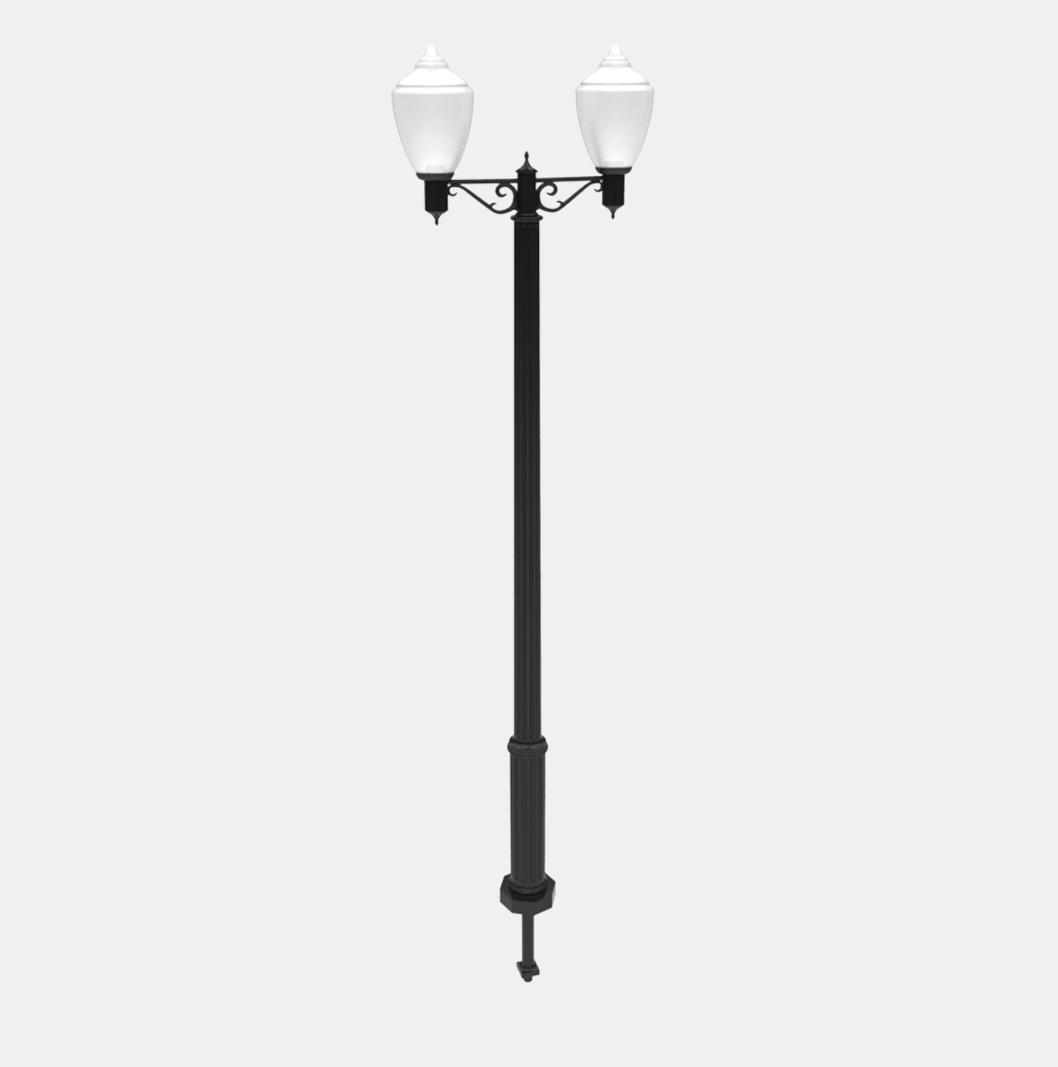 NE12 Lamp Post