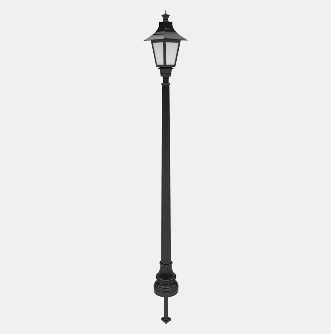 W-8 Lamp Post