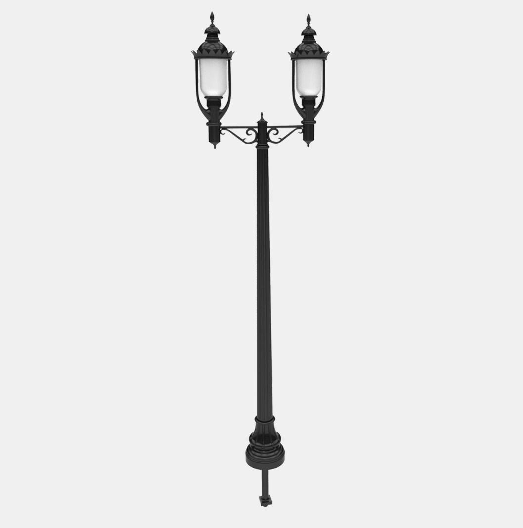 W15 Lamp Post