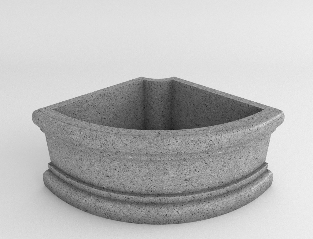 Quarter Circle Planter Terracast Productsterracast Products