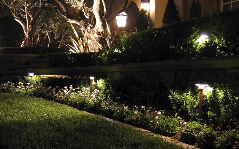 7 inspirational ideas for outdoor led landscape