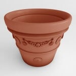 Terracotta Garland Planter