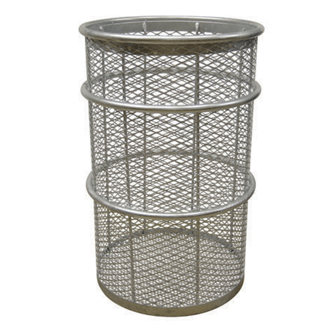 55 Gallon Galvanized Receptacle