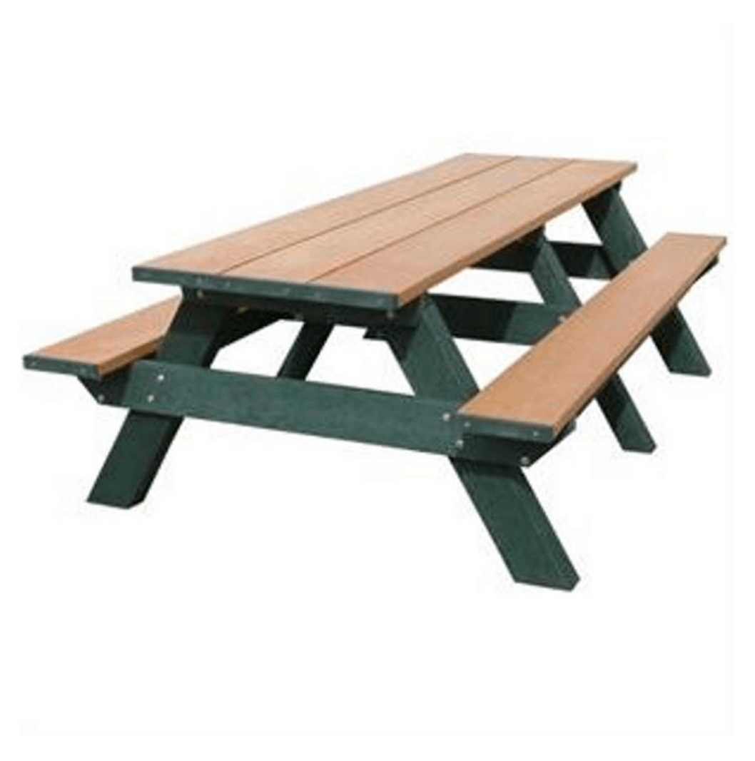 8' Double Wheelchair Accessible Picnic Table - TerraCast ProductsTerraCast Products