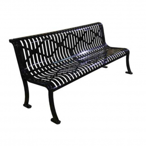 Armless Roll Formed Diamond Bench.1