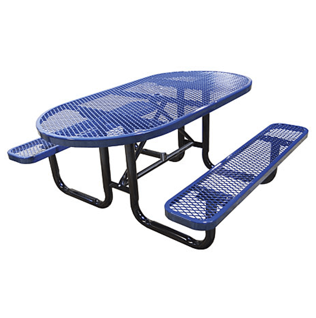 Oval Picnic Tables