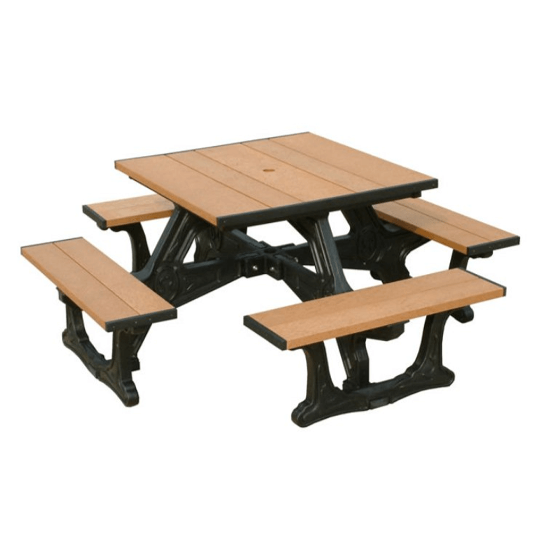 Recycled Plastic Square Picnic Table.png 2
