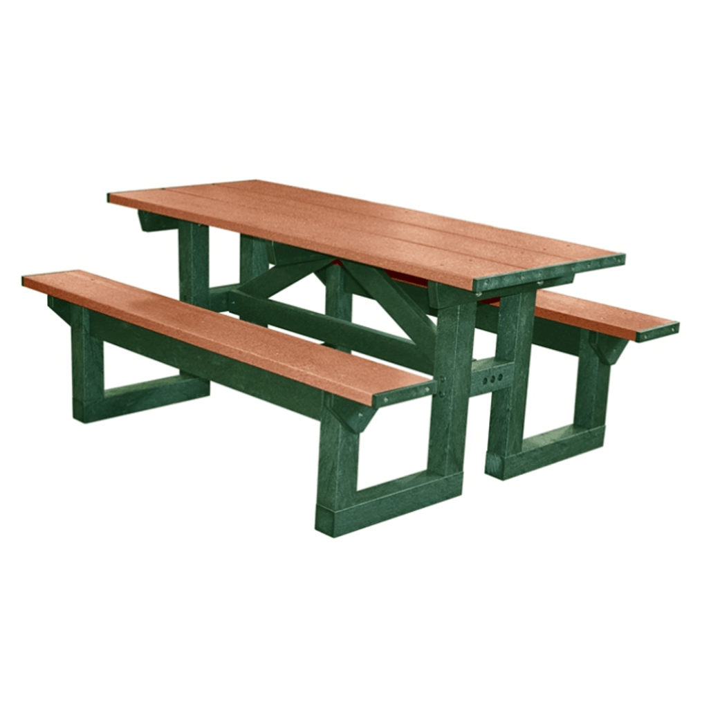 step through 6 39 picnic table terracast productsterracast products. Black Bedroom Furniture Sets. Home Design Ideas