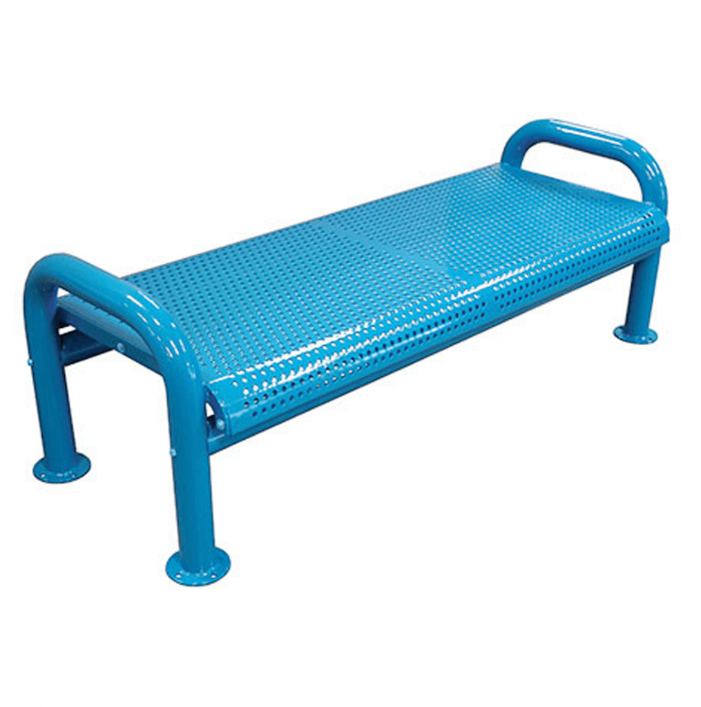 U Leg Wire Bench Without Back Terracast