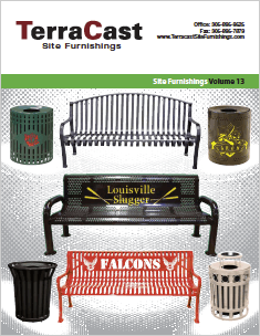 Site furnishings catalog.
