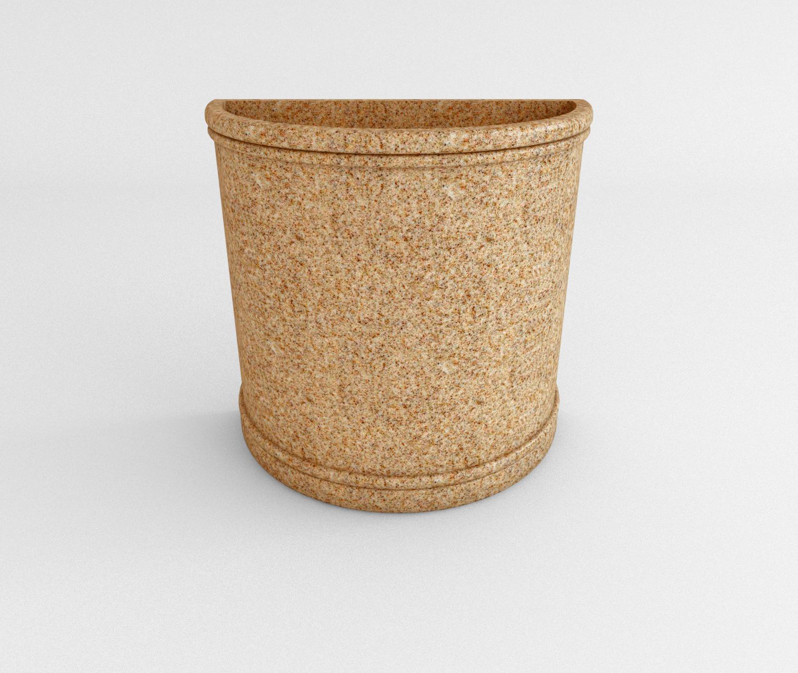 Indian Sandstone Half Round
