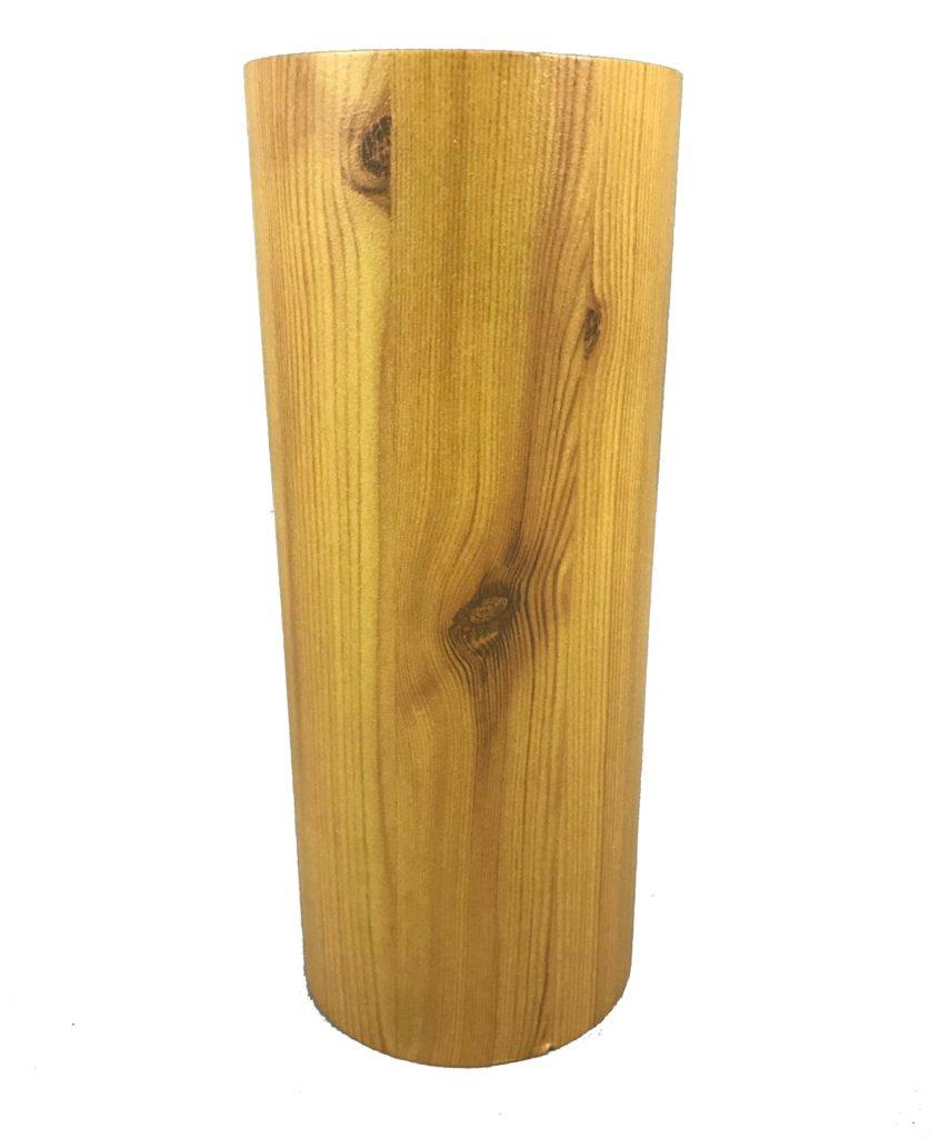 Light Pole Wood: Round Light Pole With Wood Finishes
