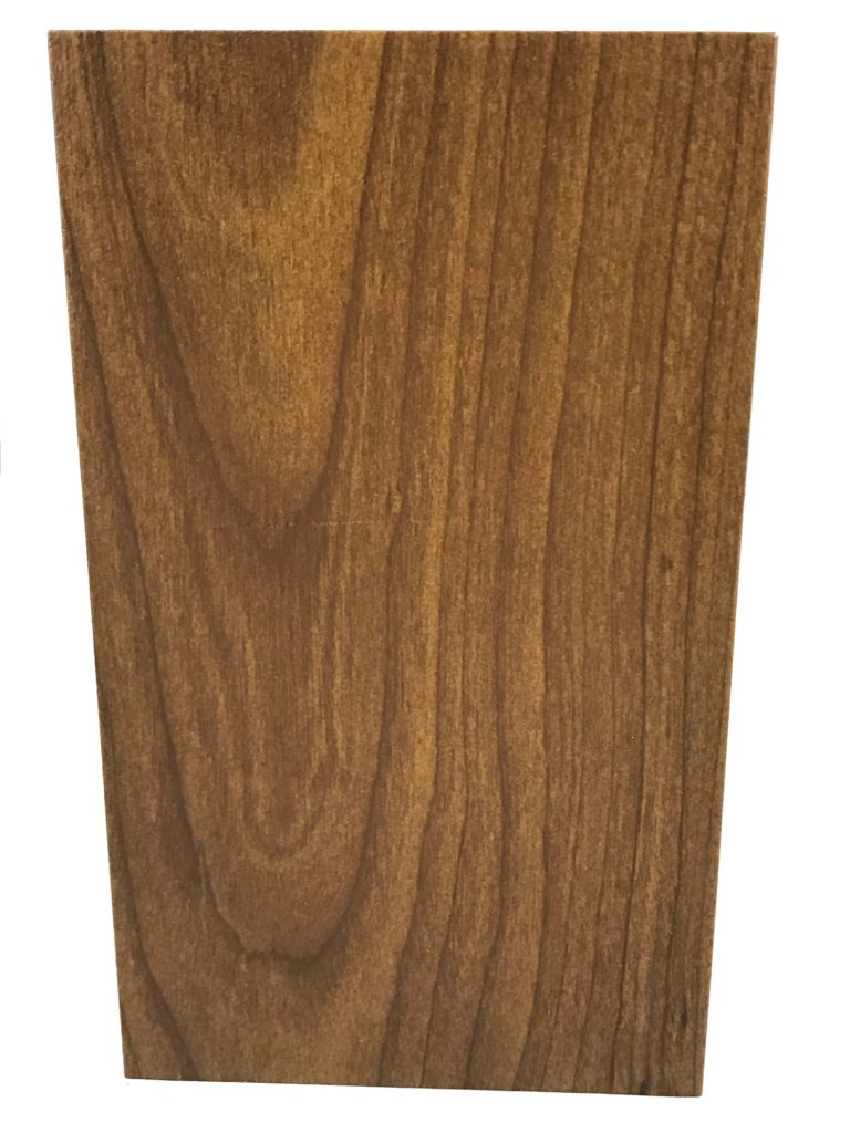 Square Light Pole With Wood Finishes Terracast