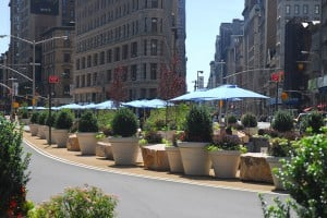 Large Garden Planters, New York City