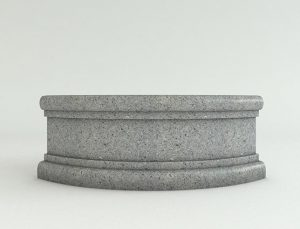 Quarter-Circle-Ash-Granite-Face