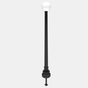W1 Lamp post