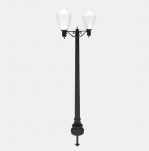 W-11 Lamp Post