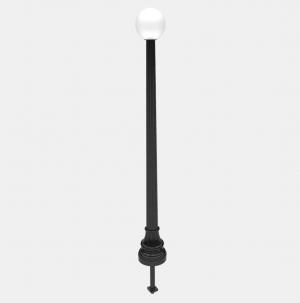 W-2 Lamp Post