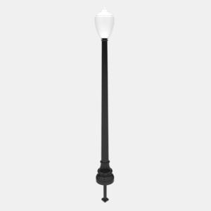 W-9 Lamp Post