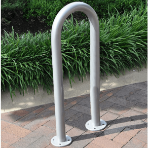 Galvanized 3 bike wave rack