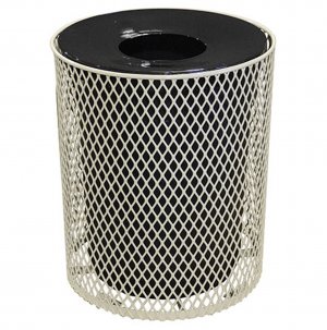 32 Gallon Expanded Metal Receptacle