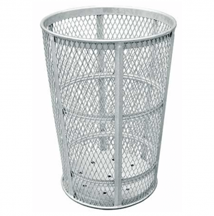 45 Gallon Galvanized Receptacle