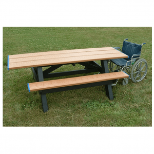 8 ft Double Wheelchair Accessible Picnic Table.png 2