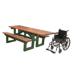 8 ft Wheelchair access step through plastic picnic table.png 2