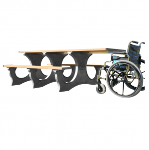 8 ft wheelchair Access Plastic Picnic table.png 2