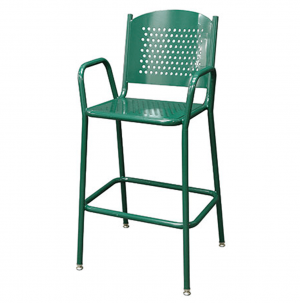 Perforated Tall Chair