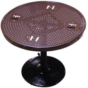 Personalized 46 in Perforated Table