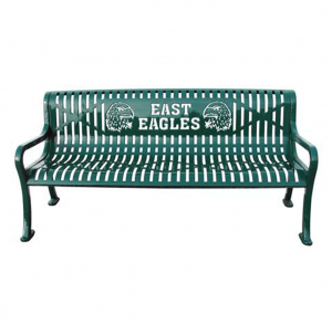 Personalized 6 Foot Roll Formed Bench. 1