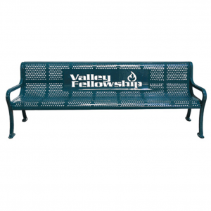 Personalized Perforated Bench