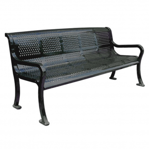 Roll Formed Perforated Benches