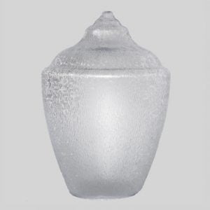 Acorn no neck polycarbonate clear or Acrylic Clear