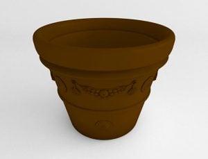Garland-Vase-Planter-Terracotta-Side