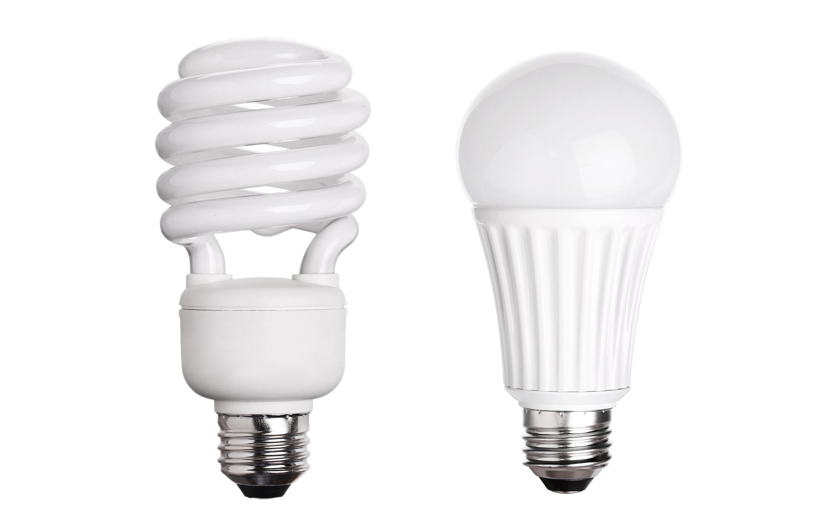 cfl vs led light bulbs