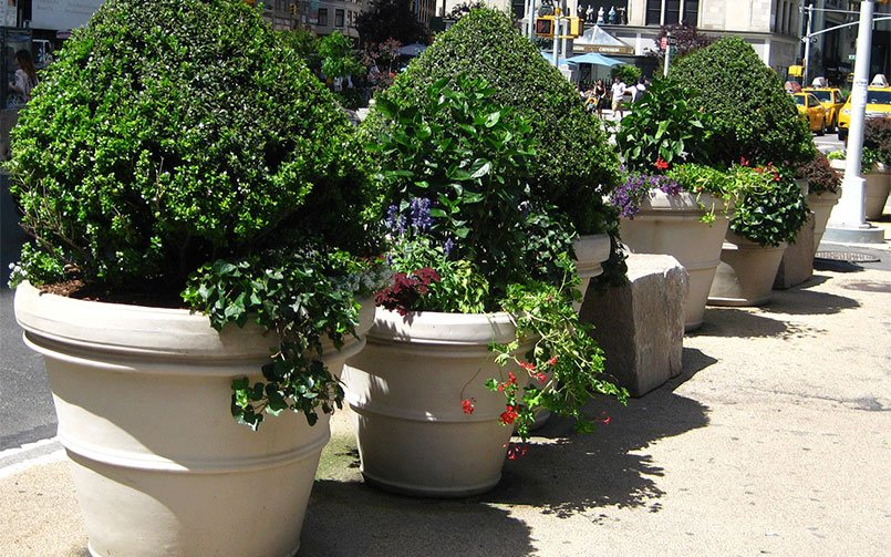 Extra Large Lightweight Planters Where