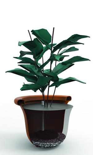 Self Watering Planter Attachment