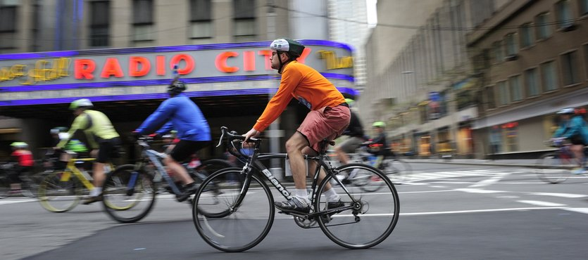 Cyclists Use Toilet Plungers to Create Their Own Bike Lane Barriers in NYC
