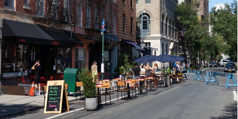 Parklet and Streetery Design