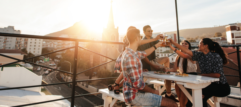 Spring is here! Get the Rooftop Ready