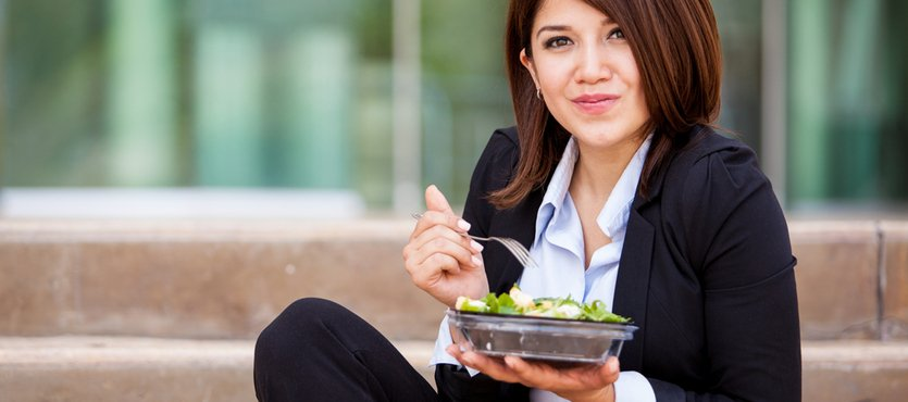 Providing Outdoor Eating Spots for Employees